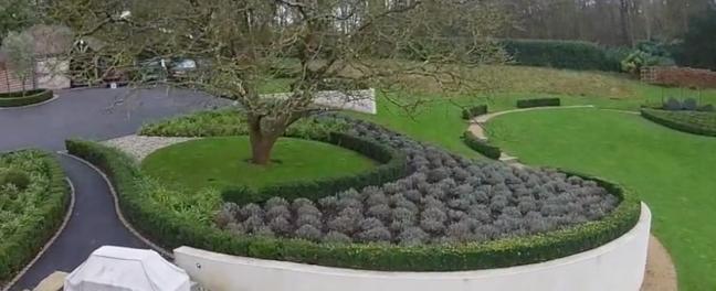 Flowing Lines Garden Design