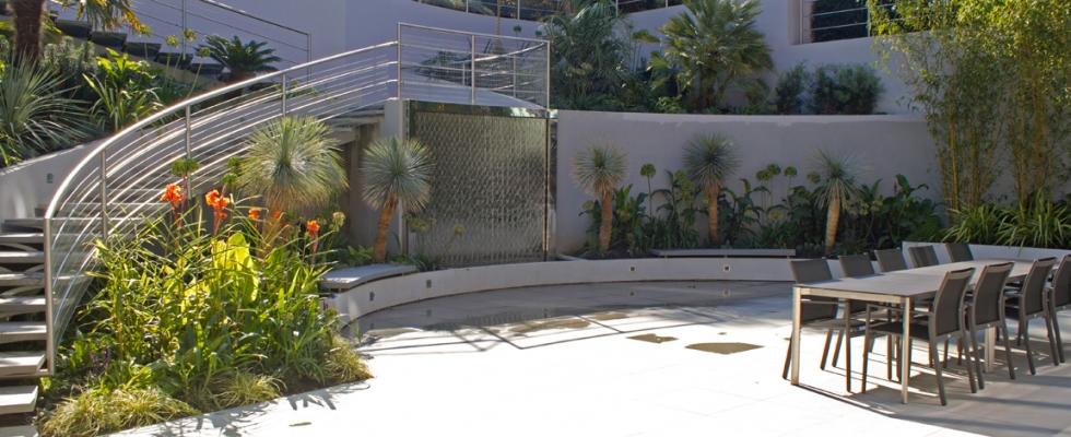 Basement Courtyard Garden Design By Philip Nash