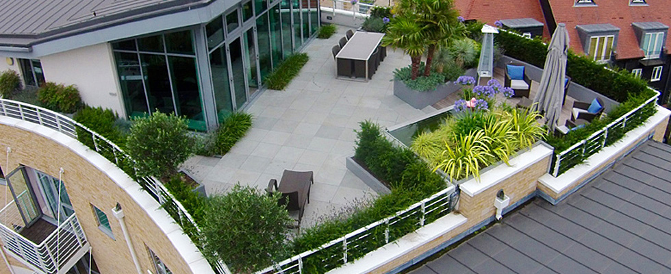 Penthouse Roof Garden In London Created By Philip Nash Design