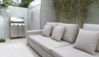 manutti kendo outdoor furniture set and built in bicycle shed