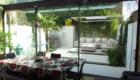 open plan living extends into the garden