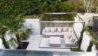 small contemporary back garden